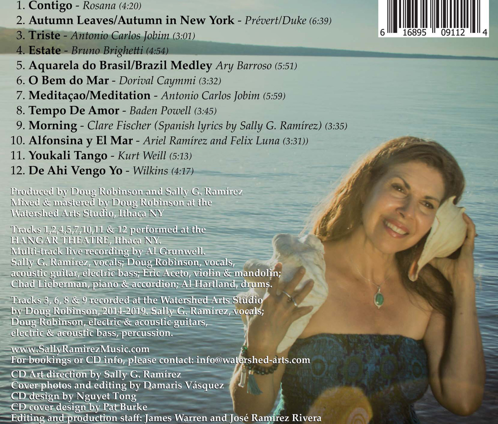 Mar y Sal back cover